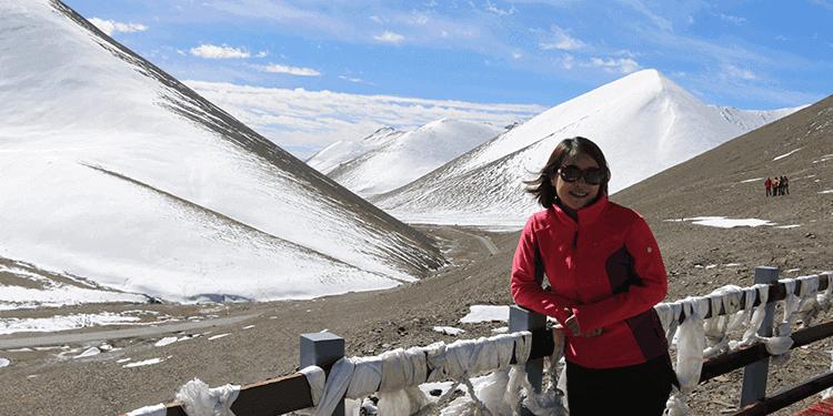 西藏游客照
