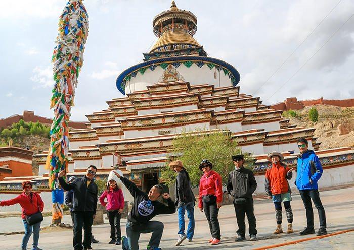 Gyantse Kumbum pagoda