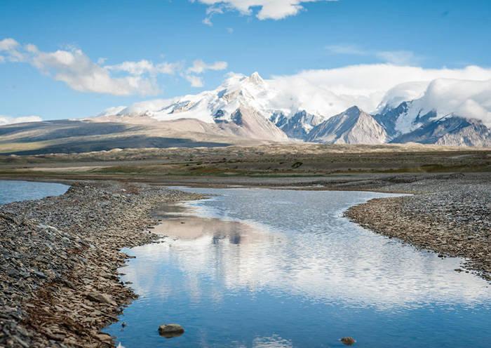Tibet in April