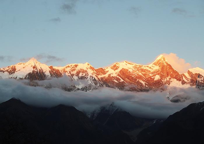 Tibet in August