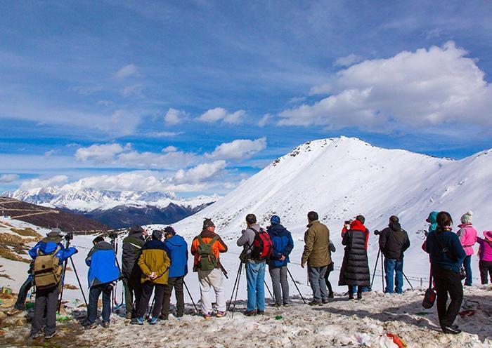Sekyim-la Pass in Nyingchi