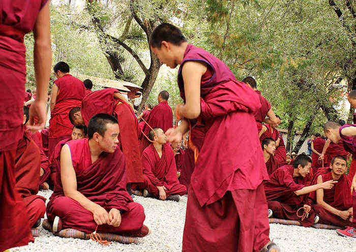 Sera Monastery Monks' Debate