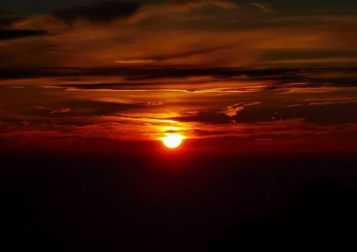 Sunrise on the Yellow Mountain